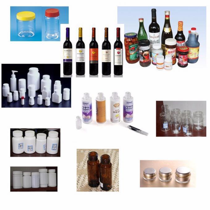 ekonomia akvogluaĵo rondaj boteloj etikedaplikilo