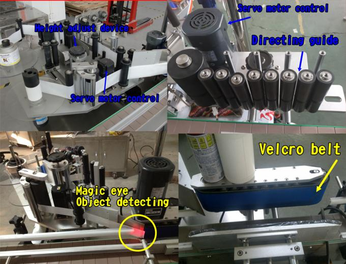 label applicator machine with CE certificate beer bottle labeling siemens PLC automatic