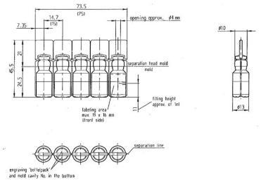 Aluminia Alojo Opp Vial-etikedmaŝino por ronda botelo, industria etikedmaŝino