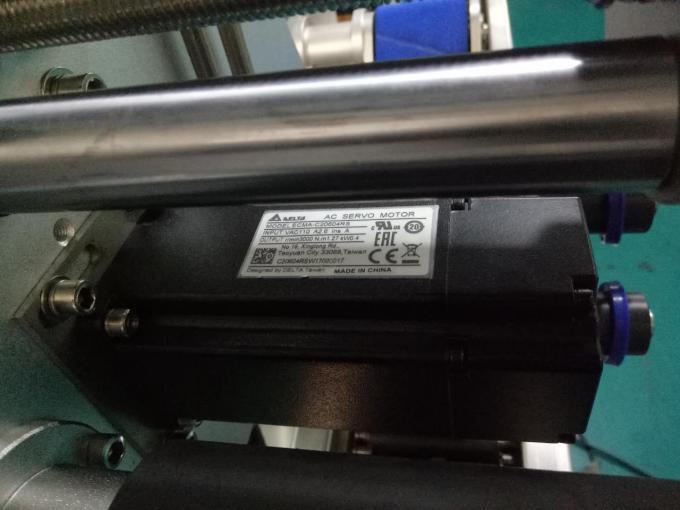 SUS304 Kabineto Du Flankoj Kvadrata Botela Glumarko-Etikedo-Maŝino Kun Personaj Prizorgaj Produktoj