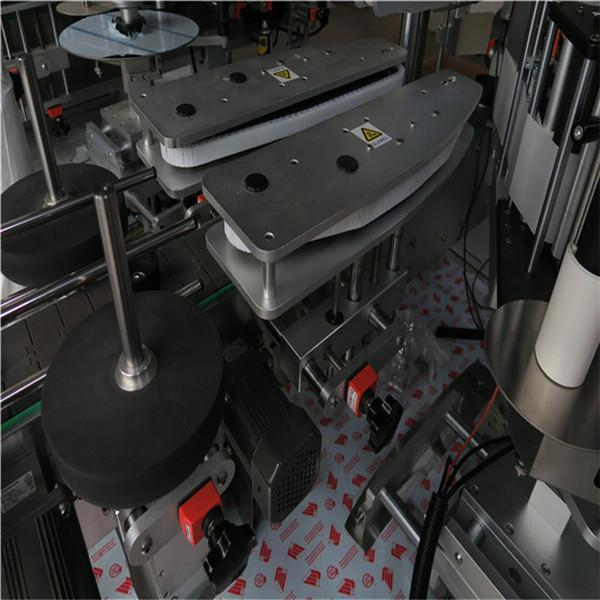 Kvadrataj kaj rondaj boteloj aŭtomatigita etikedmaŝino 50HZ 2300W Potenca sistemo