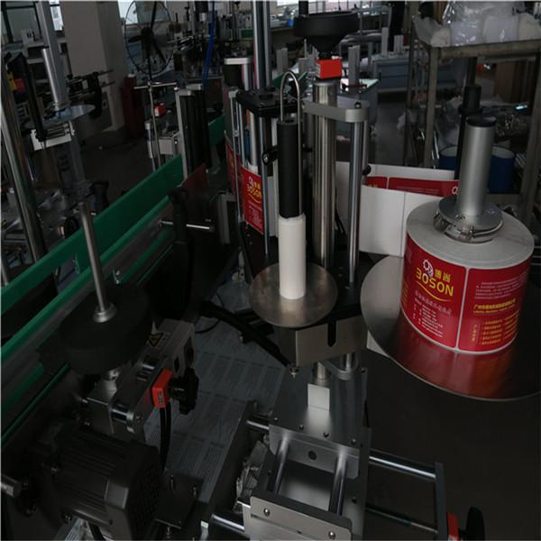 Double Side Sticker Labelling Machine for Shampoo and Detergent bottle Labeller