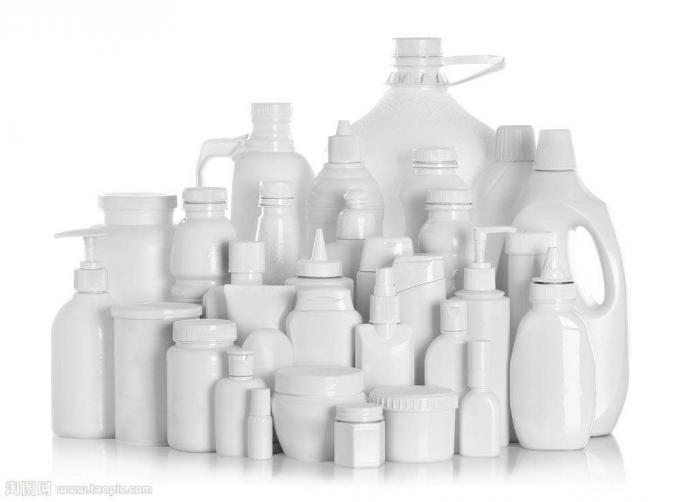 Plasta Botela Etikeda Maŝino Por Chemicalemiaj Produktoj, PLC Kaj Tuŝekrana Kontrola Sistemo
