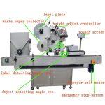 Full – Automatic Vial Labeling Machine Servo Motor Plc Control
