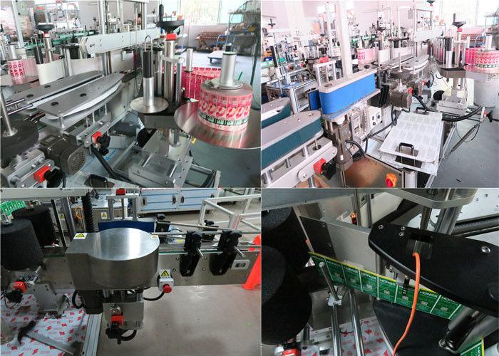Ĉina Ĉiutaga Botelo Antaŭa kaj Malantaŭa Etikedanta Maŝino, Jar Jar Labeling Machine-provizanto